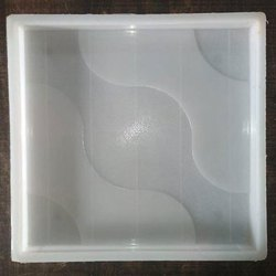 Silicone Plastic Wave Tile Mould