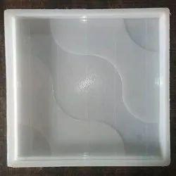 Silicone Plastic Wave Tile Mould