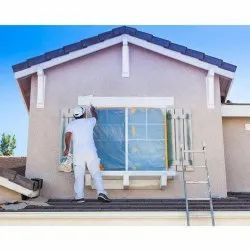 Exterior Wall Painting Service, Type Of Property Covered: Commercial