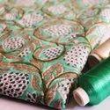 Hand Block Printed Dress Fabric