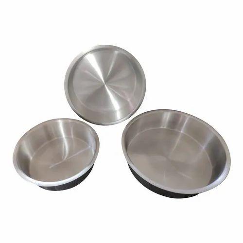 Aluminium Round Shape Cake Mould