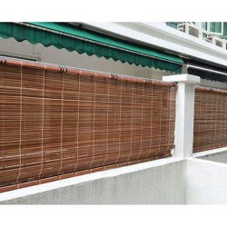 Exterior Bamboo Roller Blinds