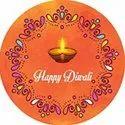Printed Diwali Stickers