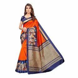 Daily Wear Art Silk Sarees