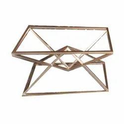 Iron Golden Modern Metal Table