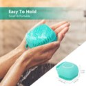 Silicone Shower Brush, Soft Body Brush, Handheld Bath Scrubber
