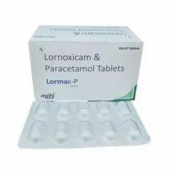 Lornoxicam And Paracetamol