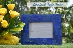Crystal Photo Frame, For Decoration, Size: 8.2 X 10 Inches