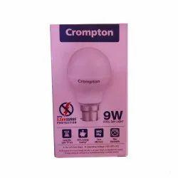Compton Round Crompton 9 W LED Bulb
