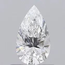 0.51ct Pear D VS2 GIA Certified Natural Diamond