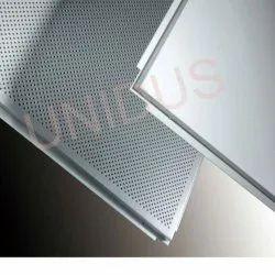 0.4MM Tegular Metal Perforated Ceiling Tiles