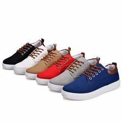 R international Multicolor Canvas shoe, Size: 7 To 10