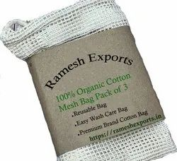Cotton Mesh Net String Produce Bag