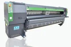 Konica FLEX PRINTING MACHINE, Printing Resolution: 1440 Dpi, Media Thickness: 1.5 Mm