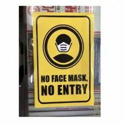 Precaution Sticker Safety Sign Covid 19