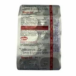 Ubidecarenone L- Carnitine L- Tartrate & Lycopene Tablets