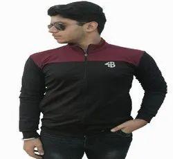 Full Sleeves Men Lycra Sports Jacket