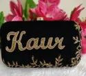 Red Personalized Party Clutch
