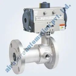 Pneumatic Jacketed Floating Ball Valve
