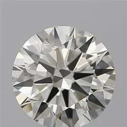Round 0.91ct H VS1 GIA Certified Natural Diamond