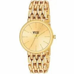 Youth Club Men BR-281GLD Analog Watch, For Daily