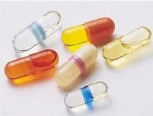 Liquid filled hard gelatin vitamin D3 capsule