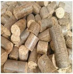 Less Than 10 % Solid Biofuel Briquettes, Round