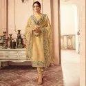Nitya Vol-155 Rabella Silk Semi-Stitched Salwar Suit- 6 Pcs  Set