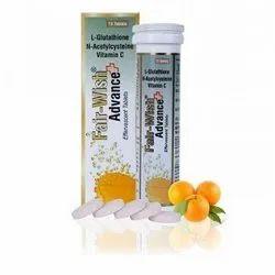 Skin Whitening Effervescent Tablet