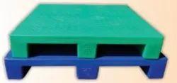 SIC Blue Supreme Plastic Pallet, For Material Handling, Capacity: 1000 kg