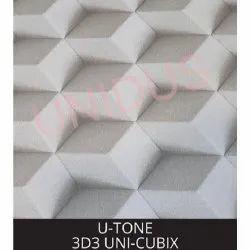 3D3 Uni Cubix PVC Laminated Gypsum Ceiling Tiles