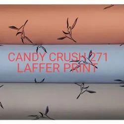 Candy Crush Laffer Print Shirt Fabric
