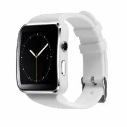 White X6 Curved Touch Screen Bluetooth Smart Watch