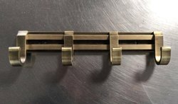 Brass Cloths Hook Hanger, Powder Coated
