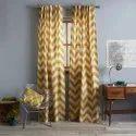zig zag pattern curtain