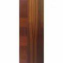 Elegant Brown Wooden Veneer Door, For Home