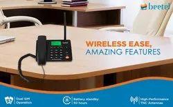 BEETEL F2N (Dual SIM) GSM Fixed Wireless Phone