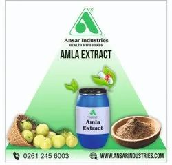 Emblica Officinalis Amla Extract, Packaging Type: HDPE Drum, Packaging Size: 25 Kgs