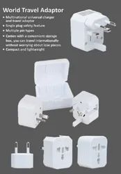 Adaptor World Travel Adapter, For Electronic Instruments