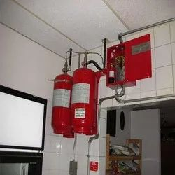Clean Agent Gas Protection Systems For Industrial, Capacity: 2 kg