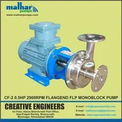 Stainless Steel Centrifugal Pump CF2, Max Flow Rate: 112 LPM