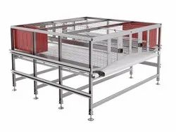 Alternative cage system for laying hens