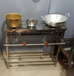Commercial Gas Range Double