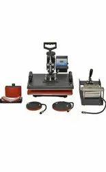 Sublimation Heat Press Machine 5 in one