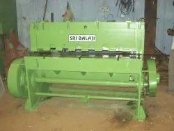 Manual Under Crank Shearing Machine