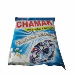 Floral Chamak Detergent Powder, For Laundry, Packaging Type: Packet