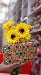 Indian Handicraft Ethnic Embroidered Evening Clutch Purse Handbag Bags