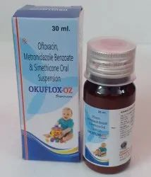 Ofloxacin Metronidazole Benzoate And Simethicone Oral Suspension