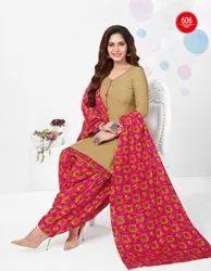 Shivkrupa Enterprise Baalar Kuber Geet Patiyala Vol 6 Cotton Suit, For Dailywear
