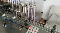 Lubricant Engine Oil Filling Machine